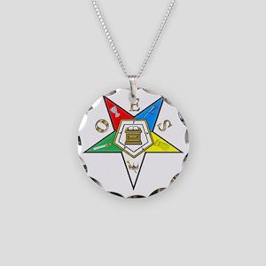 OESgmo124 Necklace Circle Charm