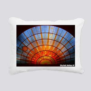 Buffalo NY City Hall Rectangular Canvas Pillow