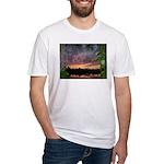 Landscape I Fitted T-Shirt