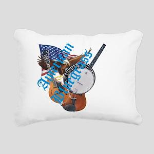 bluegrass full shirt Rectangular Canvas Pillow
