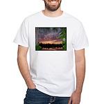 Landscape I White T-Shirt