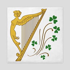 ireland-harp Queen Duvet