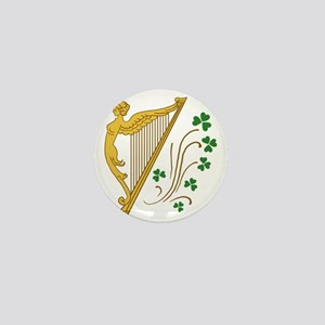 ireland-harp Mini Button