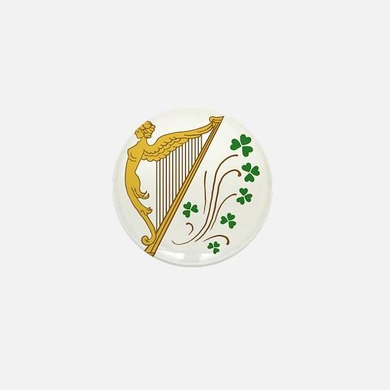 ireland-harp Mini Button