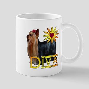 Yorkshire terrier diva Mug