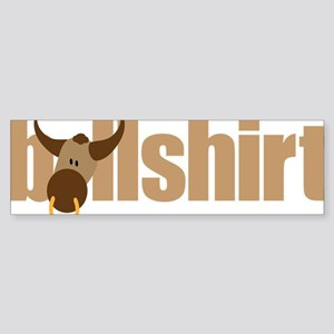 bullshirt Sticker (Bumper)