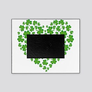 My Irish Heart SHAMROCKS copy Picture Frame