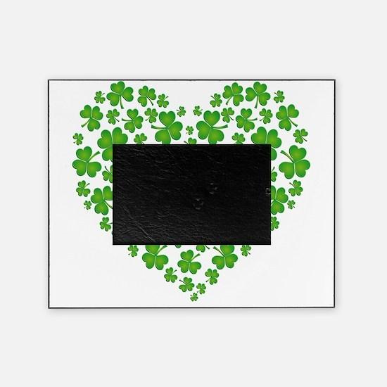 My Irish Heart SHAMROCKS copy Picture Frame