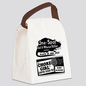 Vintage-Ad-3 Canvas Lunch Bag