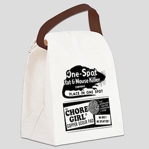 Vintage-Ad-3 Canvas Lunch Bag