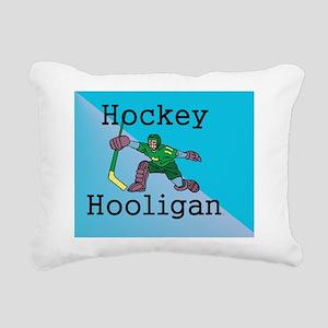 hockeyhooligan1 Rectangular Canvas Pillow
