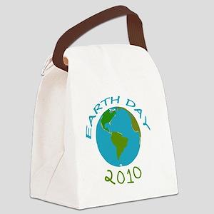 earthdaytrans copy Canvas Lunch Bag