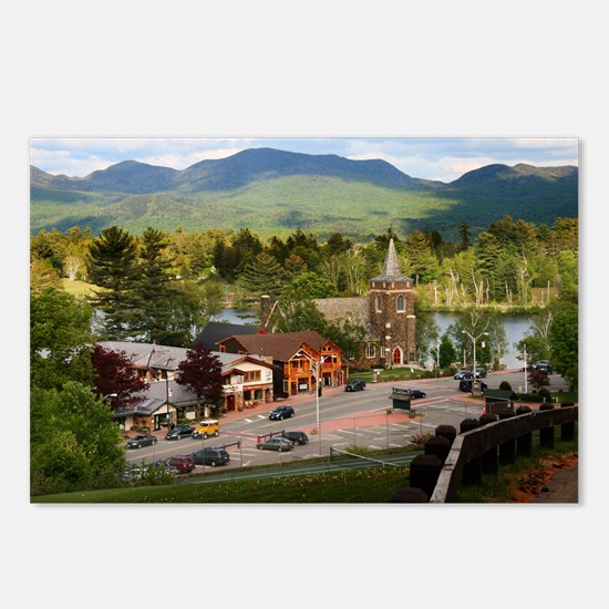 LakePlacidS Mini poster Postcards (Package of 8)