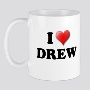 I LOVE DREW T-SHIRT, DREW SHI Mug
