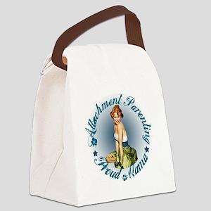 Breastfeeding Mama3 Canvas Lunch Bag