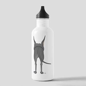 DaneBlueShirtBack Stainless Water Bottle 1.0L