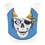 pirate skull colored copy.jpg Bib