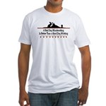 A bad day woodworking Fitted T-Shirt