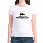 A bad day woodworking Jr. Ringer T-Shirt