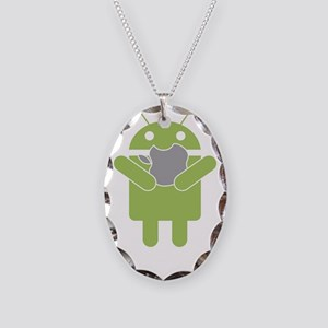 android_nom Necklace Oval Charm