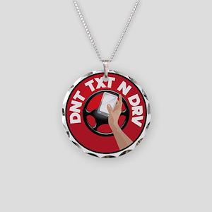 dnttxtndrv Necklace Circle Charm