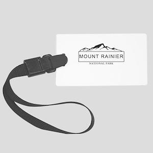 Mount Rainier - Washington Large Luggage Tag