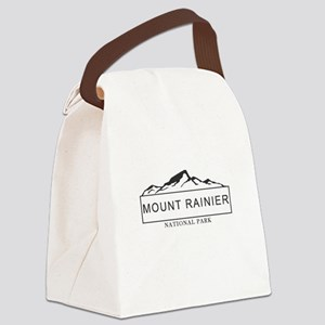 Mount Rainier - Washington Canvas Lunch Bag