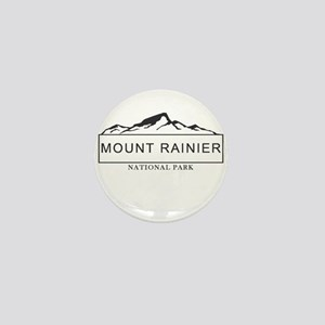 Mount Rainier - Washington Mini Button