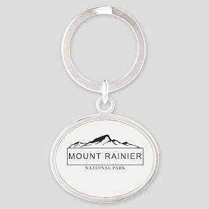 Mount Rainier - Washington Keychains