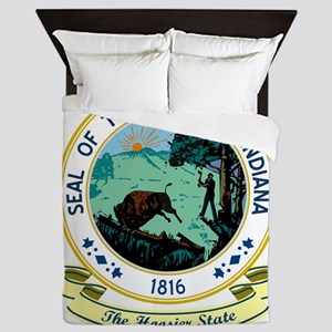 Indiana Seal Queen Duvet