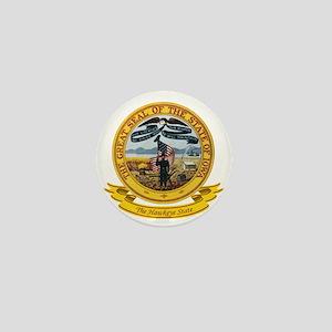 Iowa Seal Mini Button