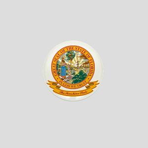 Florida Seal Mini Button