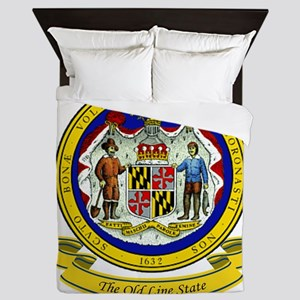 Maryland Seal Queen Duvet