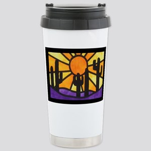 desert-daze-poster Stainless Steel Travel Mug