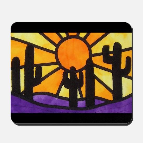 desert-daze-poster Mousepad
