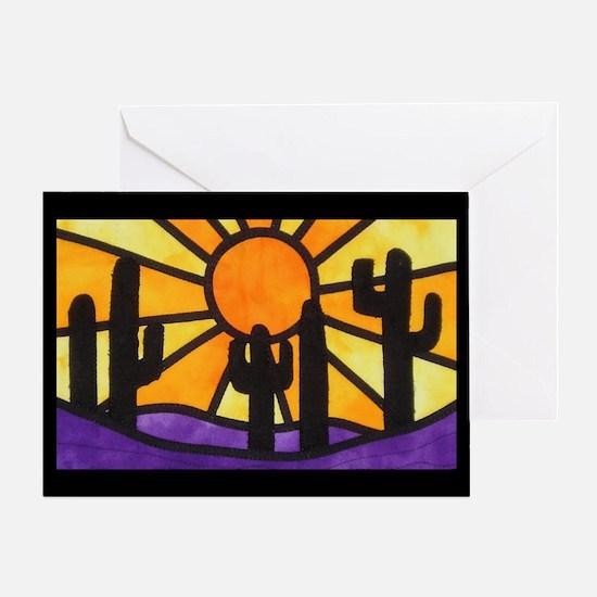 desert-daze-poster Greeting Card