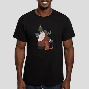 Juggling Santa T-Shirt