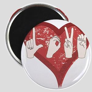 LoveASL Magnet
