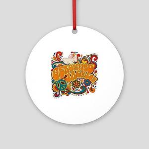 geronimogroovy Round Ornament
