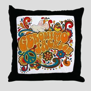 geronimogroovy Throw Pillow
