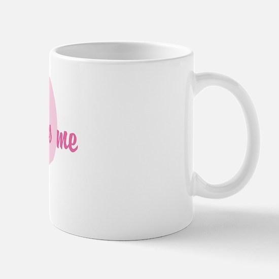 """""""braden loves me"""" Mug"""