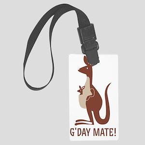 GDay Mate Kangaroo Large Luggage Tag