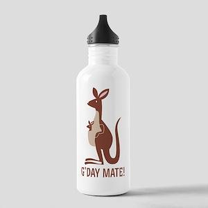 GDay Mate Kangaroo Stainless Water Bottle 1.0L