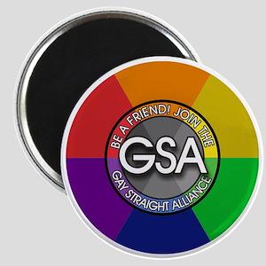 GSAbuttonRainbow Magnet