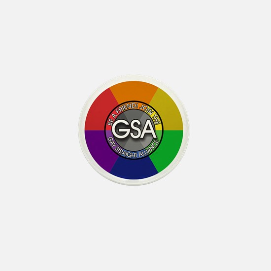 GSAbuttonRainbow Mini Button