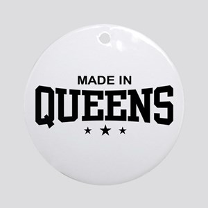 Made in Queens Ornament (Round)