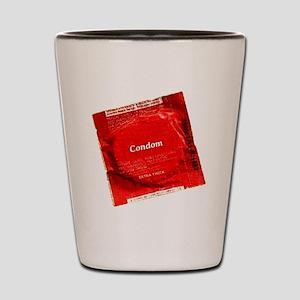 condom1 Shot Glass