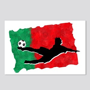 Soccer-Portugal Postcards (Package of 8)