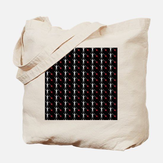 Pirate_Flag_Black_Beard(B) Tote Bag