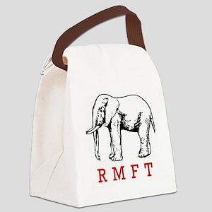 rmft t shirt copy Canvas Lunch Bag